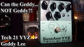 YYZ - Geddy Lee Signature Pedal Tech 21 - Demo - Review - Walk through