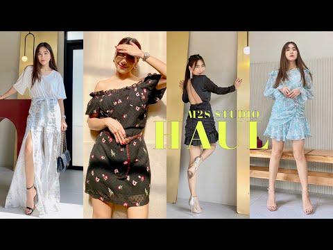 M2S STUDIO HAUL เห่อเสื้อผ้าคอลใหม่ สไตล์ผู้หญิงๆ สวยๆ แซ่บๆ  | WEARTOWORKSTYLE