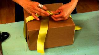 Want to tie the perfect bow? Learn this classic gift wrapping techn...