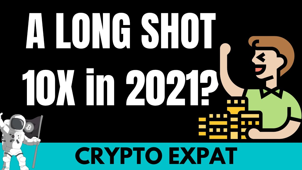 A Long Shot Crypto Could 10X in 2021? ETH Xmas Giveaway in this video!!