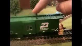 5 minute review athearn ho scale bn bay window caboose 3 16 14