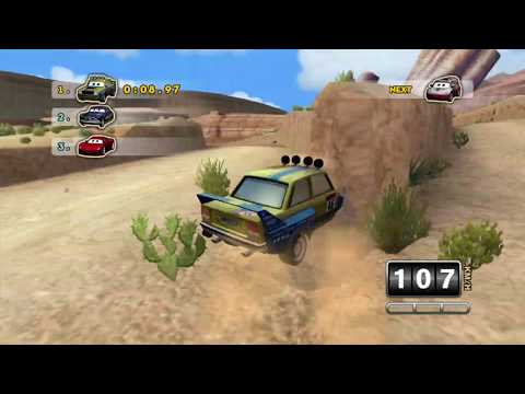 Cars: Mater-National: Test Recording