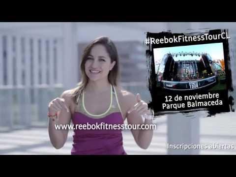 REBOOK FITNESS TOUR SANTIAGO DE CHILE