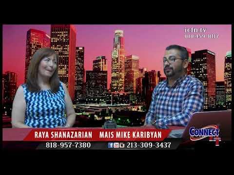 Connect4ever Show Guest Raya Shanazarian