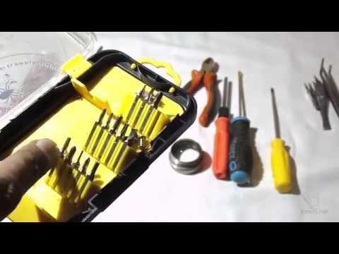 Инструменты и приспособления, измерительные приборы начинающего радиолюбителя