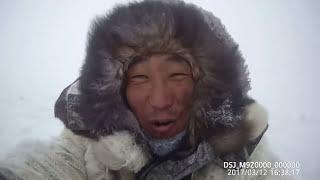 Fishing Выезд в пургу на буране на рыбалку (окунь щука) 12.03.2017 Yakutia