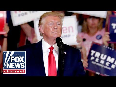 Trump rips 'America-hating' Dems at fiery North Carolina rally