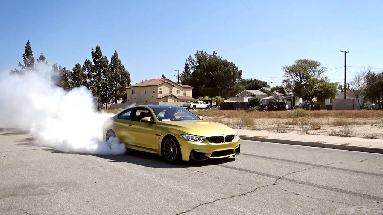 Bmw M4 Burnout Youtube