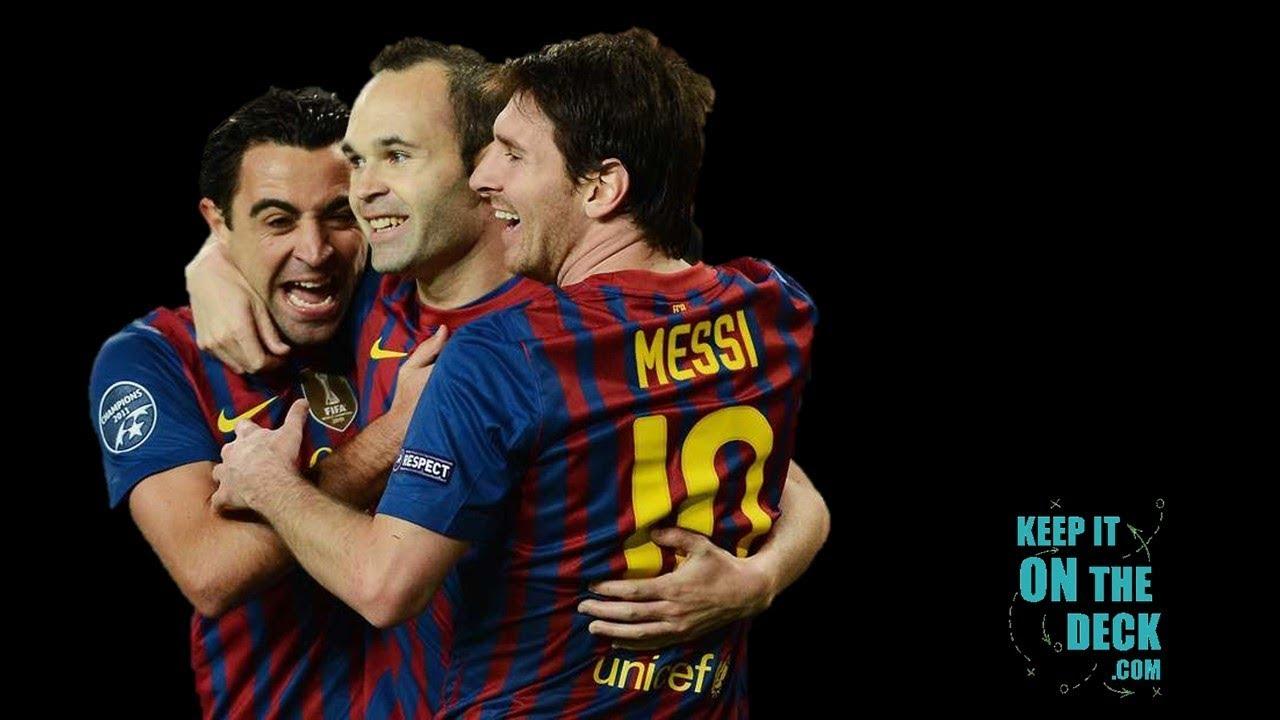 Lionel Messi Iniesta Xavi We Knew We D Win Youtube