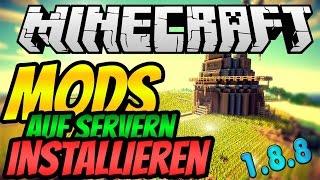 Minecraft MOD SERVER ERSTELLEN - Tutorial (1.8.8) | Forge Mods im Multiplayer (Windows+Mac)