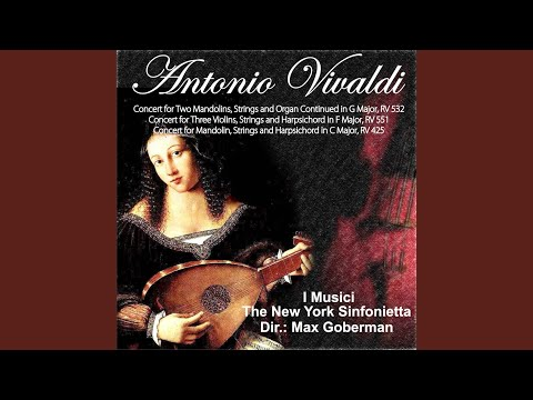 i musici concert for two mandolins strings and organ continued in g major rv 532 ii andante