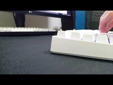 한성컴퓨터 GTune GK638 Optic RGB 키보드 MJ스위치 타건