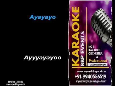 Ayayayoo Aananthamey HQ Tamil Video Karaoke (BBP Karaoke)