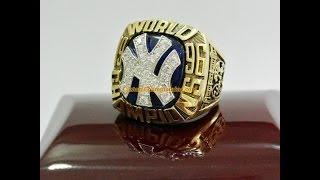 1996 New York Yankees World Series Championship Ring