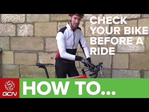 How To Check Your Bike Before You Ride Pre-Ride And Weekly Checks