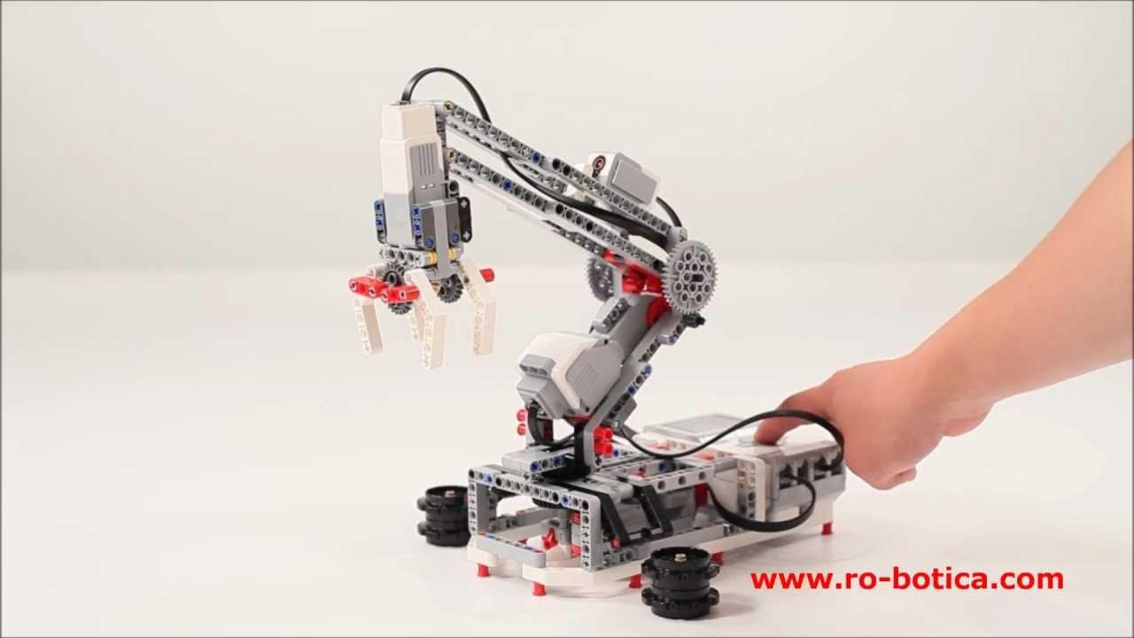 Brazo robot LEGO ® MINDSTORMS ® Education EV3 en RO-BOTICA