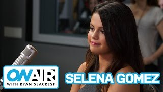 selena gomez talks relationship with justin bieber on air with ryan seacrest