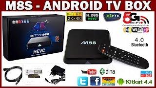 ANDROID TV BOX M8s : SMART TV приставка для ТЕЛЕВИЗОРОВ - ПОСЫЛКИ из КИТАЯ(Приставку покупал здесь ➔ http://ali.pub/6v47t -------- ПРИСТАВКИ ANDROID TV BOX : M8S : Видео - Обзор ➔ https://youtu.be/h5jUeu-UKuo M8S : Покупа..., 2015-09-27T17:16:26.000Z)