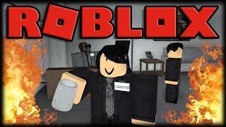 WORKING IN OFFICE AND GETTING COUT OF COFFEE!! -ROBLOX Ro-Office