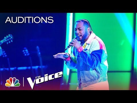 """The Voice 2019 Blind Auditions - Julian King: """"All Time Low"""""""