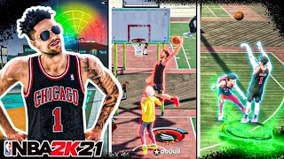 MY 99 OVR OFFENSIVE THREAT IS A DEMIGOD ON NBA 2K21! BEST BUILD & JUMPSHOT NBA 2K21