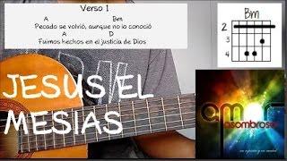 Como Tocar: Jesus El Mesias -En Espiritu Y En Verdad  | Tutorial Guitarra (cover) Ricardo Ramirez