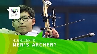 Lee Woo Seok Wins Men's Individual Archery Gold - Highlights | Nanjing 2014 Youth Olympic Games