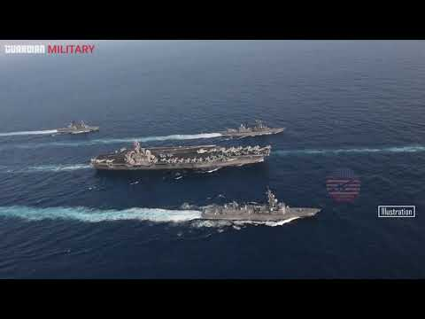 USS Carl Vinson Arrives in Yokosuka for support of South China Sea maritime security operations