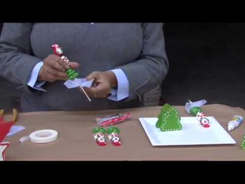 C mo decorar de un rbol miniatura navide o con dulces - Como decorar un arbol de navidad ...