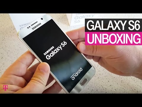 Samsung Galaxy S6 Smartphone Unboxing | T-Mobile