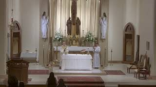 Trinity Sunday - 10:30 AM Mass at St. Joseph's - 6.7.20