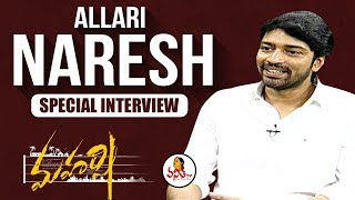 Download Allari Naresh Exclusive Interview on Maharshi Movie | Celebrity Interviews | Vanitha TV Mp3 and Videos