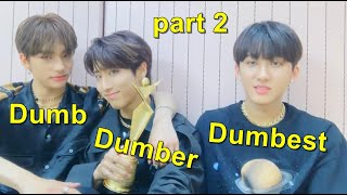 Stray kids Changbin, Hyunjin and Han being best friends (part 2)