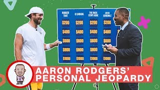 AARON RODGERS' PERSONAL JEOPARDY on CABBIE PRESENTS