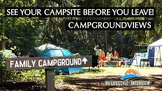 See Your Campsite Before You Make Reservations - RV Camping