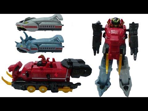 Lắp ráp robot siêu nhân tàu lửa biến hình - robot transformer