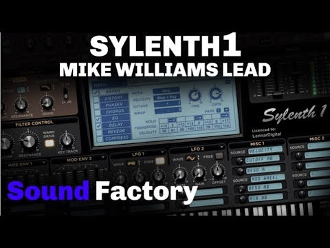 Sylenth1 Tutorial: Mike Williams - The Beat