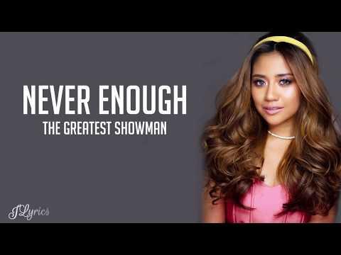 Never Enough - Morissette Amon cover (The Greatet Showman OST) (Lyrics)