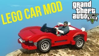GTA 5 PC Mods - AMAZING Lego Car Mod! Showcase and Funny Moments! (GTA V PC Mods)