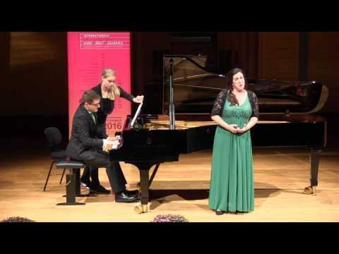 """Duo 06 """"Suzanne Fischer & Panaretos Kyriatzidis"""" Runde1 / 1st round Lied-Wettbewerb 2016"""