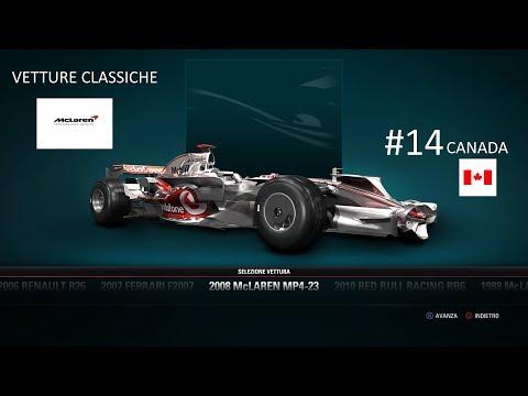 McLAREN MP4-23 2008 - F1 2017 - #14 CANADA (vetture classiche)