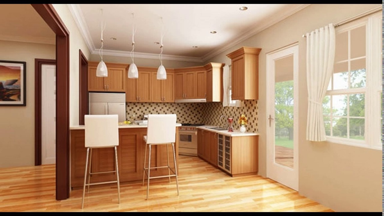 Open Kitchen Design Small Small House Open Kitchen Designs Youtube
