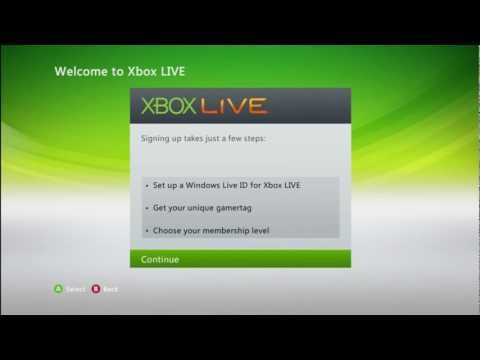 How to Join XBOX Live XBOX 360 V2