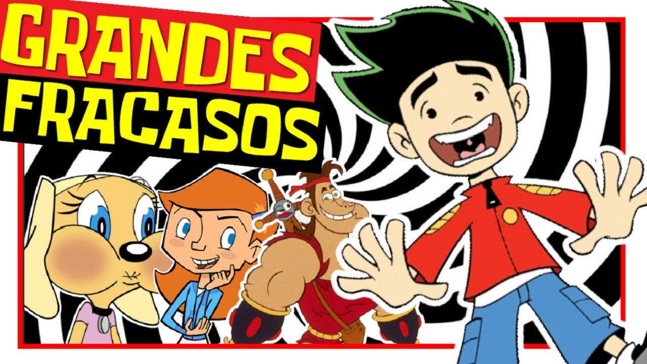 5 GRANDES FRACASOS DE DISNEY CHANNEL SERIES ANIMADAS