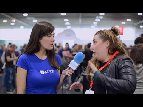 Entrevista con Inés Huertas en Codemotion Madrid 2017