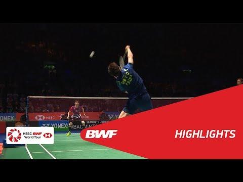 YONEX All England Open 2018   Badminton MS - SF - Highlights   BWF 2018
