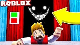 THERE'S A MONSTER INSIDE THE ELEVATOR AT ROBLOX!