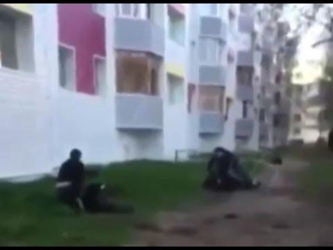 В Сургуте задержаны молодые люди, избившие прохожих