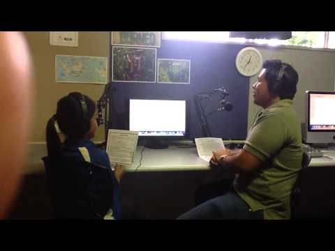 Daniel Kiob on Kiwi radio station