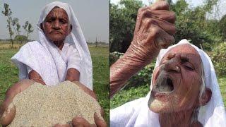 meet   the granny who eats sand for good health